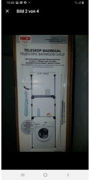 Badregal NEU Teleskop Badregal Regal