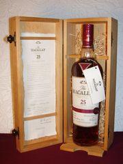 Whisky MACALLAN 25YO SHERRY OAK