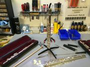 Querflöten Reparaturen Werkstatt für Flöten