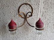 Schöner zeitloser Wand-Kerzenhalter