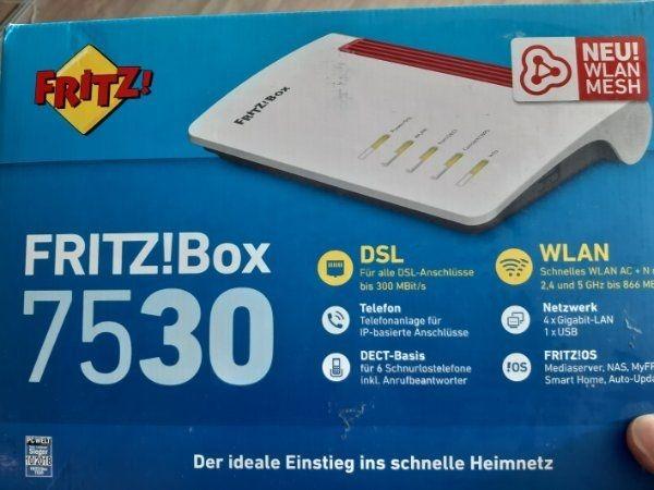 Fritz Box 7530 wie Neuwertig