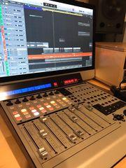 Geschenk-CD im Tonstudio in München