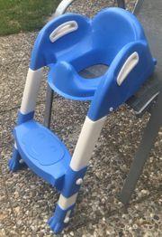 Thermobaby Kiddyloo Toiletten-Trainer weiß blau