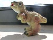 Dino-Figur Hartgummi Dinosaurier neuwertig unbespielt