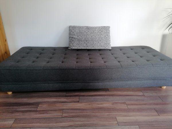 Sofa Bett aufklappbar