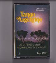 Audio-Kassette MC Tango Argentino