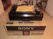 Sony BDP-S5000ES High-End Blu-ray-Player OVP