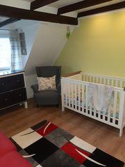 Babybett Kleinkindbett aus Massivholz kidsmill