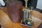 Antike Dampfmaschinenanlage