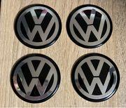 VW Felgendeckel Aufkleber 65mm Nabendeckel