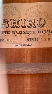 Shiro Gitarre aus den 70ern