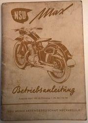Sammlerstück von 1953 NSU MAX