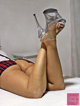 Erotische Bilder & Videos - Fussfetisch Crushing High Heels Nylons