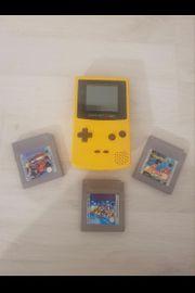 Gameboy Color und 3 spiele