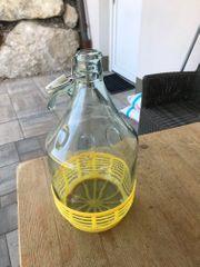 7 Stück 5 Liter Glas