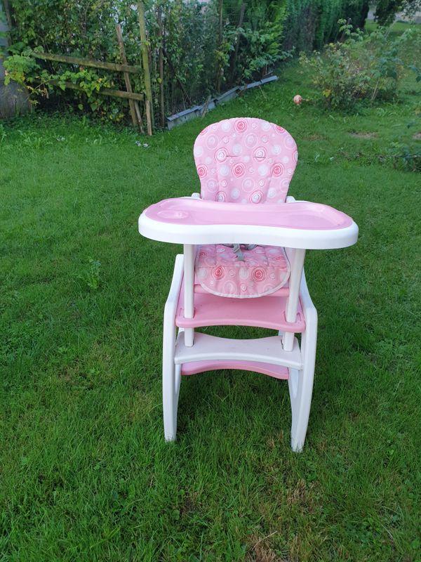 Hochstuhl 3in1 Kindersitz Babystuhl Babyesstisch