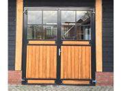 119 Pferdestalltor mit Glas Pferdestall