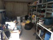 Abschließbare Einzelgarage als Lagerraum in