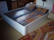 Doppelbett Hülsta weiss 160x200cm