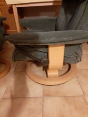 Original Stressless Sessel aus den