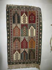 Orient Teppich Handgeknüpft Wandteppich Persien