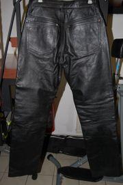 Motoradhose aus Leder für Damen