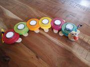 Teelichtraupe für Kindergeburtstag 1 - 6