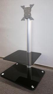 Designer TV-Tisch aus Glas