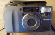 Autofocuskamera PENTAX-ESPIO 115 M silber-schwarz