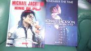 2 Michael Jackson Bücher mit