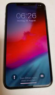 iPhone X 256GB schwarz kein