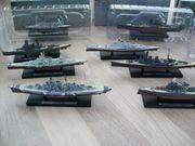 13 Modellschiffe Schiffsmodell Schlachtschiff USS