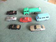 5 Modellautos herpa und Wiking