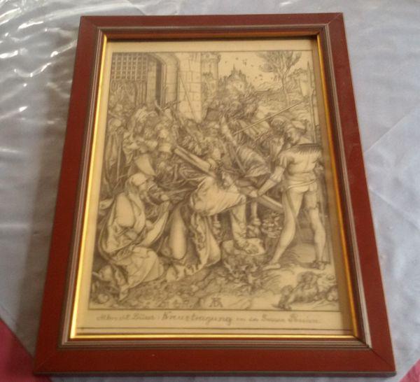 Albrecht Dürer Kreuztragung aus der