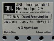 Verstärker JBL GTS150