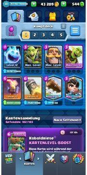 Cr Account level 11 maxed