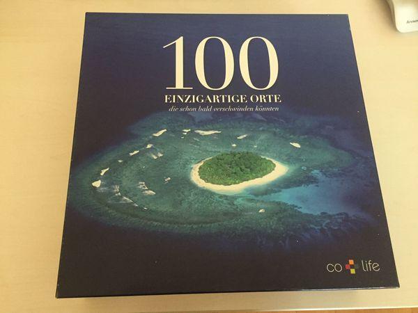 Gesellschaftsspiel - 100 einzigartige Orte - wie
