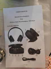 Bluetooth Stereo Headphone mit FM