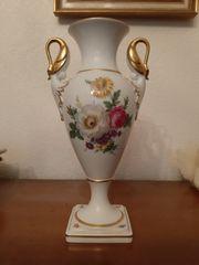 Kaiser Porzellan Vase und Schale