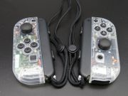 Nintendo Switch JoyCon Controller - transparent