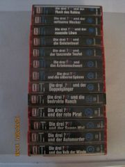 3-Fragezeichen-Kassetten 13 Stück