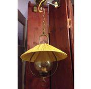 Messinglampe