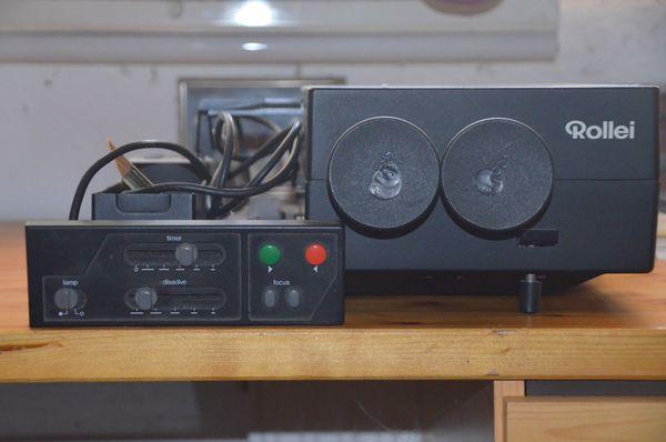 Dia Projektor Rolleivision 35 twin
