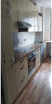Einbauküche nobilia L-Form mit Elektrogeräten