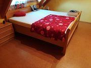 Schlafzimmer in Buche günstig abzugeben