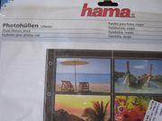 Hama Photohüllen für 120 Fotos