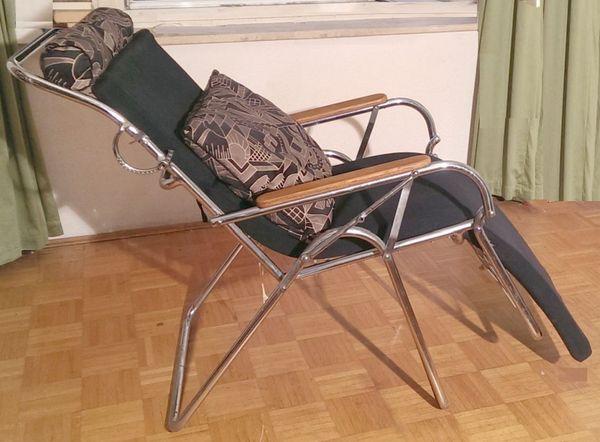 Luckhardt20 Liegestuhl Er Vonthonet DesignHans Art Jahre Deco b6y7fg