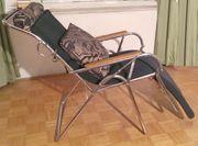 Art Deco Liegestuhl vonThonet Design