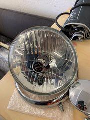 Harley Davidson Softail Scheinwerfer Tankdeckel