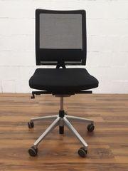 Bürodrehstuhl Sedus ohne Armlehnen schwarz